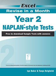 Excel Revise in a Month Naplan*-style Tests Year 2