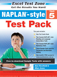 Excel Test Zone NAPLAN*-style Test Pack Year 5
