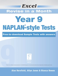 Excel Revise in a Month NAPLAN*-style Tests Year 9