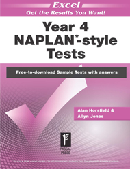 Excel NAPLAN*-style Tests Year 4