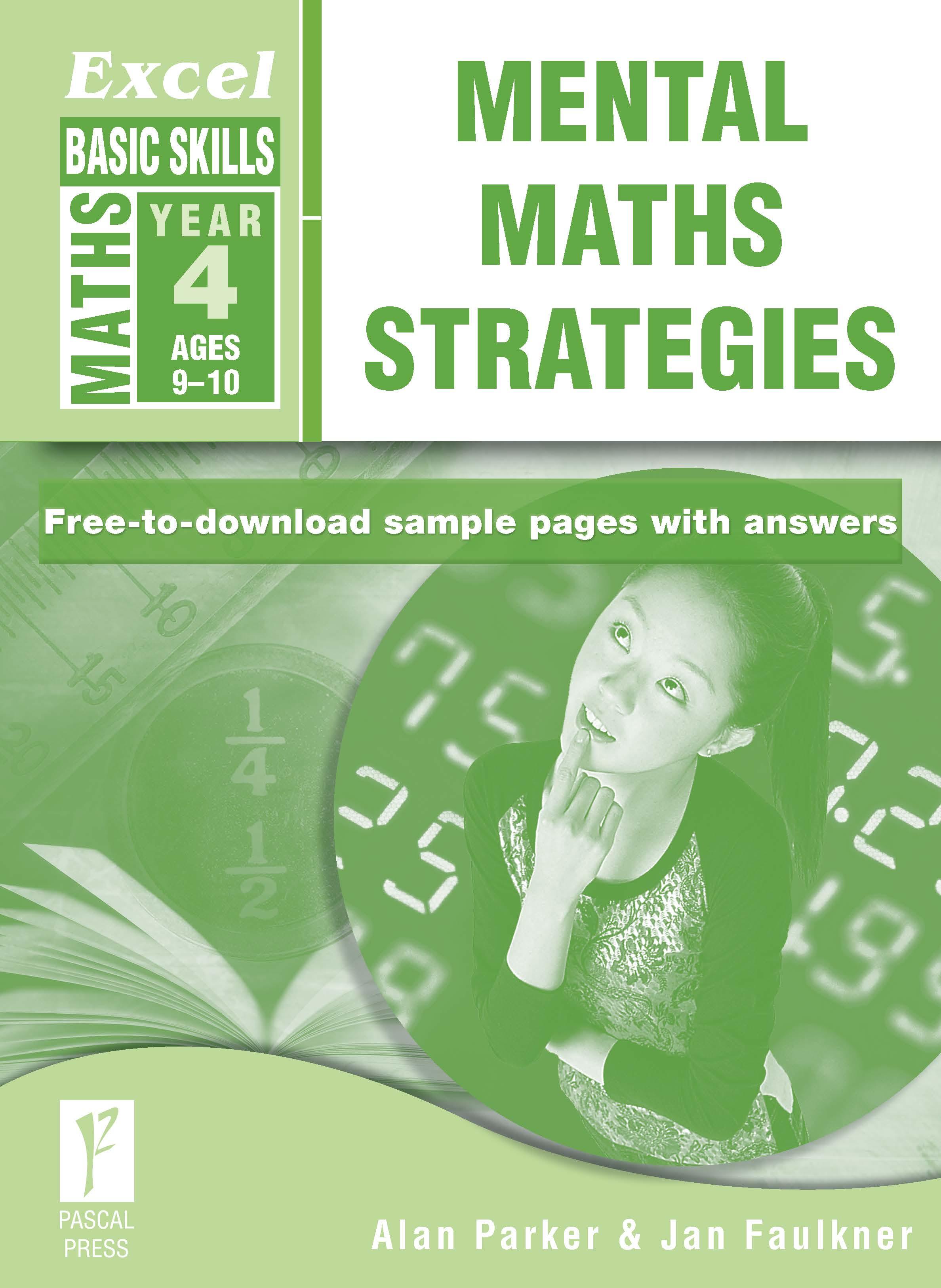 Excel Basic Skills Mental Maths Strategies Year 4