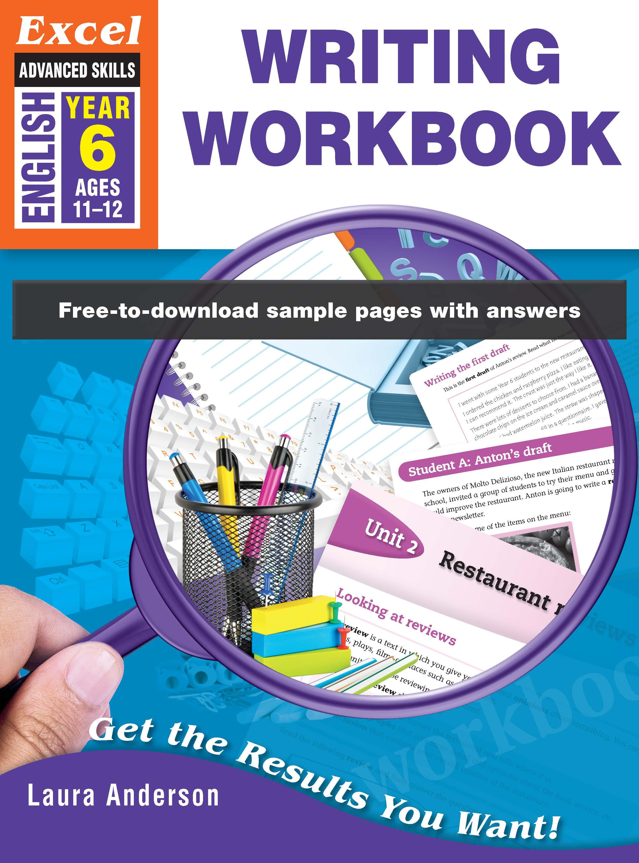Excel Advanced Skills Writing Workbook Year 6