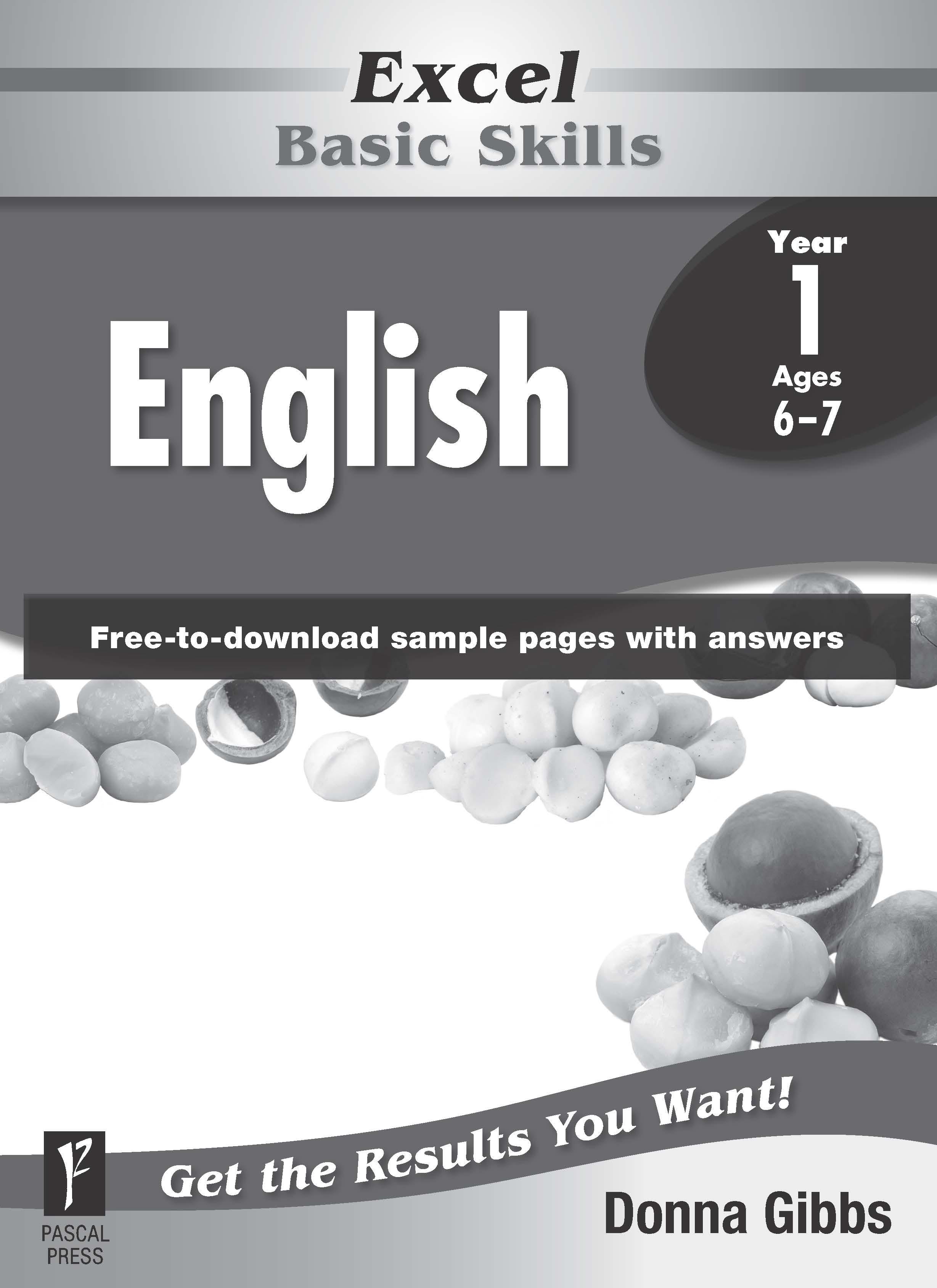 Excel Basic Skills English Year 1