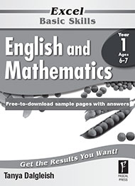 Excel Basic Skills English and Mathematics Year 1