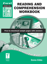 Excel Advanced Skills Reading and Comprehension Workbook Year 4