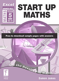 Excel Advanced Skills Start Up Maths Year 5