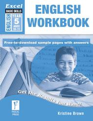 Excel Basic Skills English Workbook Year 5