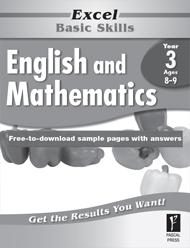 Excel Basic Skills English and Mathematics Year 3