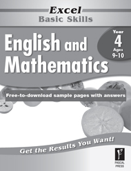 Excel Basic Skills English and Mathematics Year 4