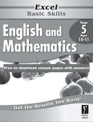 Excel Basic Skills English and Mathematics Year 5
