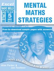 Excel Basic Skills Mental Maths Strategies Year 5