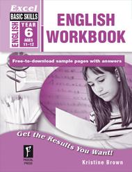 Excel Basic Skills English Workbook Year 6