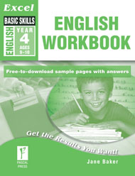 Excel Basic Skills English Workbook Year 4