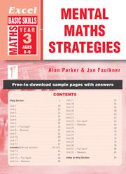 Excel Basic Skills Mental Maths Strategies Year 3