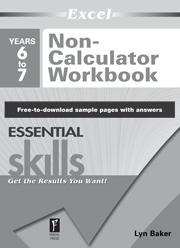 Excel Essential Skills Non-Calculator Workbook Year 6–7