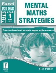 Excel Basic Skills Mental Maths Strategies Year 1