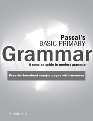 Excel Handbooks Pascal's Basic Primary Grammar Years 3–6