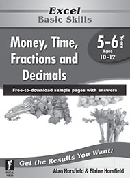Excel Basic Skills Money, Time, Fractions and Decimals Years 5-6