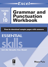 Excel Essential Skills Grammar and Punctuation Workbook Year 9-10