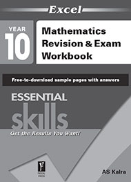 Excel Essential Skills Mathematics Revision & Exam Workbook Year 10