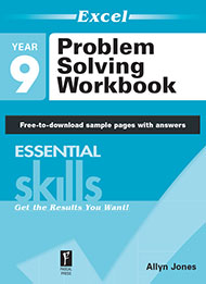 Excel Essential Skills Problem Solving Workbook Years 9