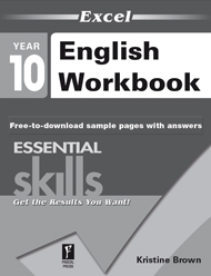 Excel Essential Skills English Workbook Year 10