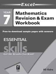 Excel Essential Skills Mathematics Revision & Exam Workbook Year 7