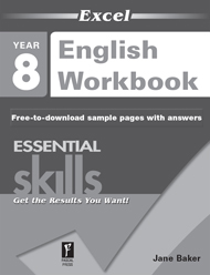 Excel Essential Skills English Workbook Year 8