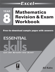 Excel Essential Skills Mathematics Revision & Exam Workbook Year 8