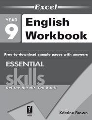 Excel Essential Skills English Workbook Year 9 Sample 2