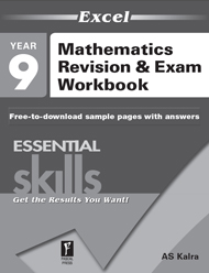 Excel Essential Skills Mathematics Revision & Exam Workbook Year 9