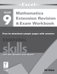 Excel Essential Skills Mathematics Extension Revision & Exam Wkbk Year 9