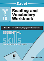 Excel Essential Skills Reading and Vocabulary Workbook Years 9-10