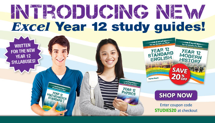 View our Excel HSC & Preliminary range