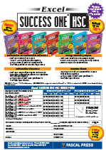 Success One pre-order form