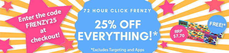Click Frenzy Sale - 25% off