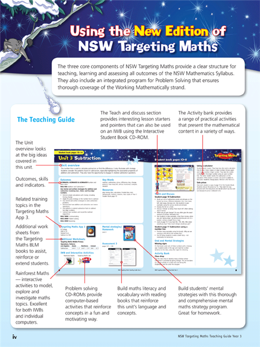 Targeting Maths NSW Year 3 Teaching Guide Australian Curriculum Edition