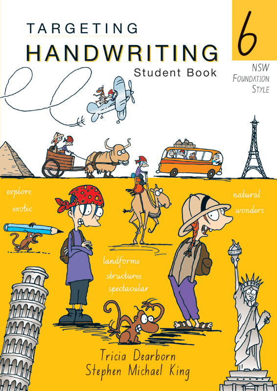 Targeting Handwriting Nsw Student Book Year 6 Pascal Press