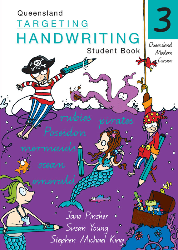 targeting handwriting qld student book year 3