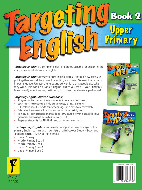 Targeting English Student Book - Upper Primary - Book 2