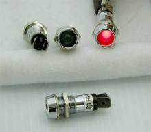 LED Indicator Lights - Chrome