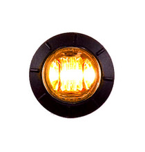 "3/4"" Mini Combination Clearance Marker Light  3 LED"