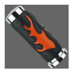 Racing Orange Flame Grip