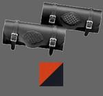 Racing Orange/Black Braided Tool Bag