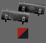 Aztec Orange/Black Braided Tool Bag