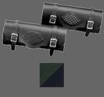 Mystic Green/Black Braided Tool Bag