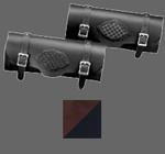 Violet Pearl/Black Braided Tool Bag