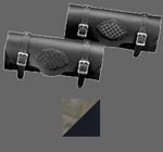 Platinum Silver/Black Braided Tool Bag