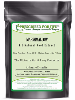 Marshmallow - 4:1 Natural Root Extract Powder (Althaea officinalis)