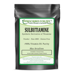 Sulbutiamine - Synthetic Derivative of Thiamine Powder - >98% Vitamin B1 Purity (aka Arcalion)